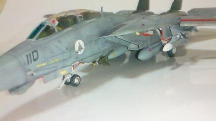 F-14A++完成09-機首アップ