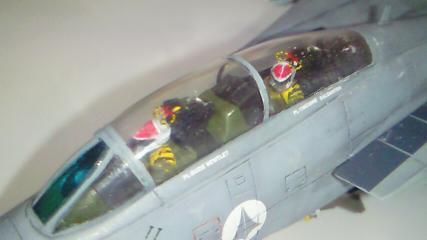 F-14A++完成07-コクピットアップ