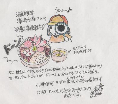 スケッチ旅行(海鮮丼)1