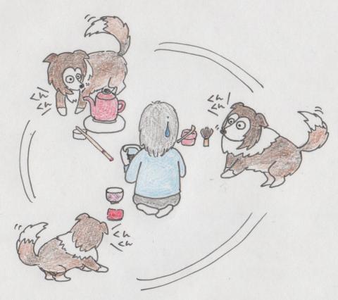 茶道稽古風景No3