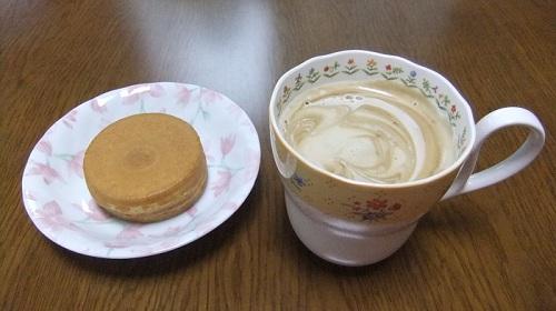 今川焼き(大判焼き)&コーヒー