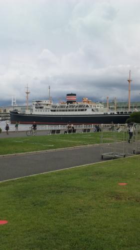山下公園の船。