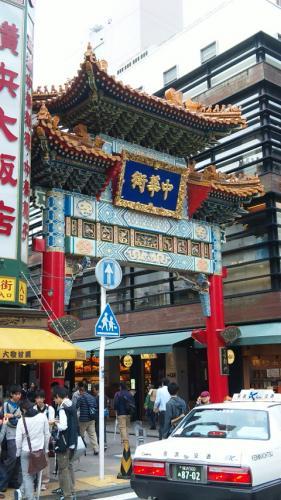 横浜中華街。