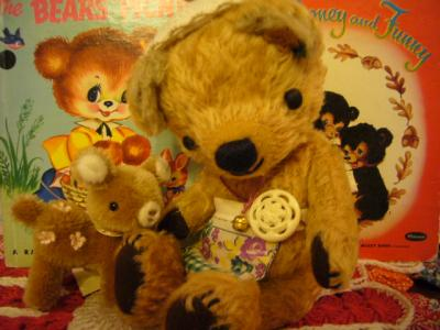 Chizu Bearさんと ばにらちっくさん♪