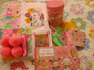 Antique Fabric Pinks♪