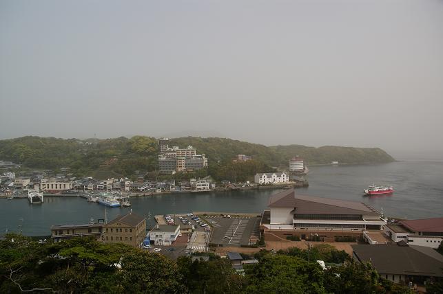 平戸城からの眺め