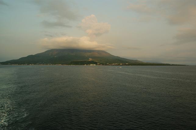 バイバイ桜島