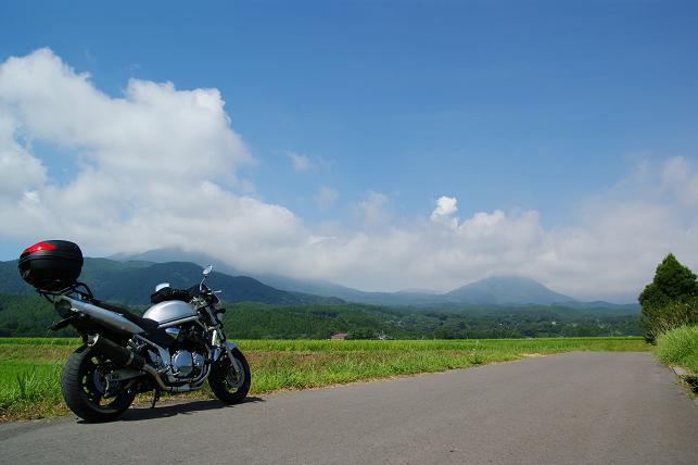霧島連山とBandit