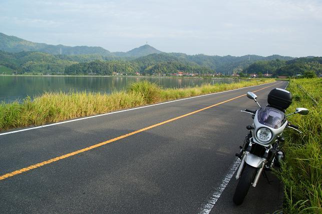 中海を貫く県道338にて