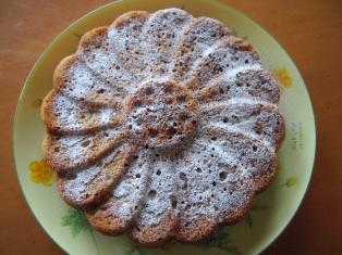 バナナラムレーズンケーキ