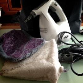 蒸気を使う掃除道具