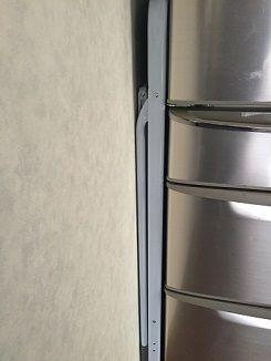 冷蔵庫との隙間に