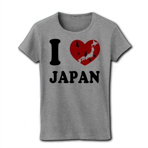 I Love Japan   リブクルーネック