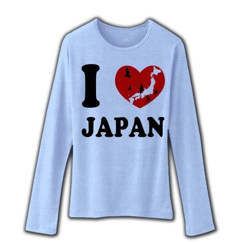 I Love Japan   リブクルーネック長袖