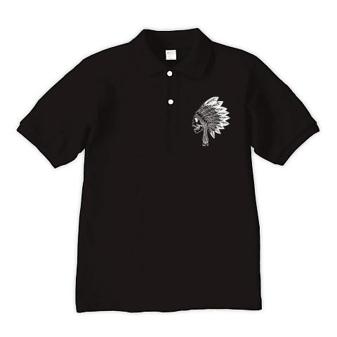 インディアン_side_ポロシャツ