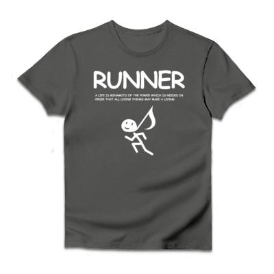 Runner ダルクベーシックTシャツ