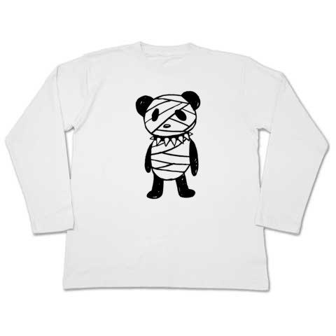 重症パンダ ロングTシャツ