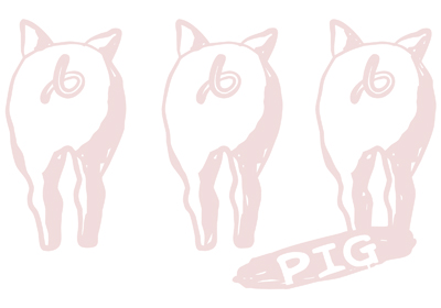 tail of pig