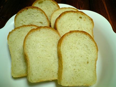 パウンド型の食パン