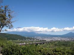 2010年10月体育の日の富士山すその