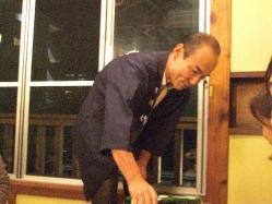 KAWADEさんの川出代表