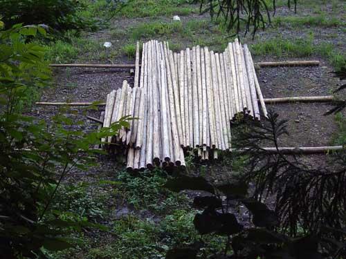 集まること~木材