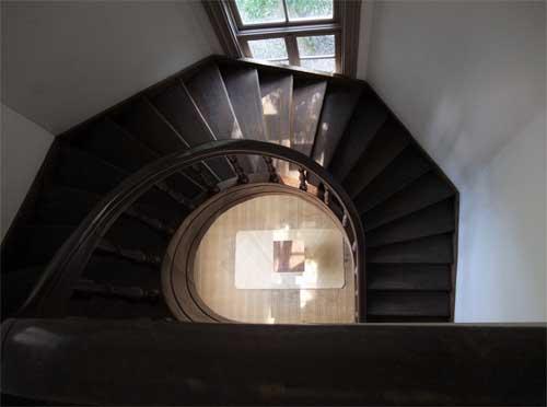 明治期の螺旋階段4
