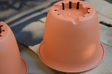 セリアのプラ鉢