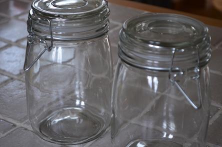 セリア保存瓶ジャー