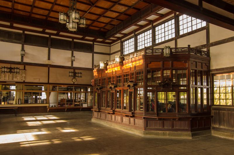 旧大社駅内側