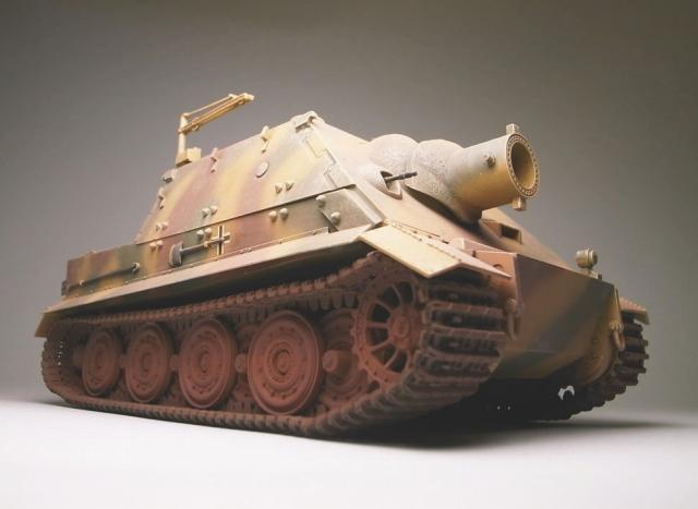 ストームタイガー戦車【1/35MM】