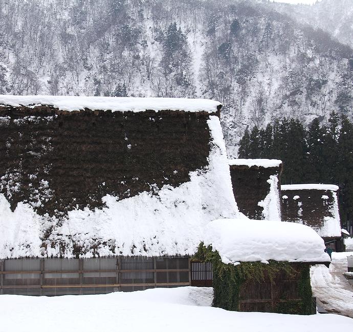 冬の菅沼合掌造り集落