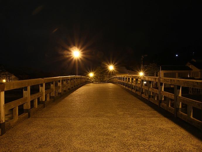 浅野川 梅ノ橋の夜景