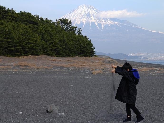 富士山そっちのけ