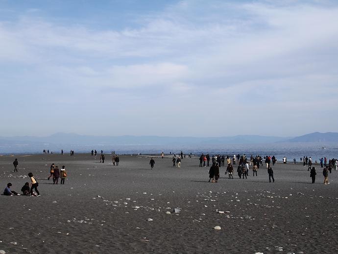 三保の松原 広い砂浜