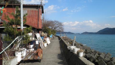 沖島の景色