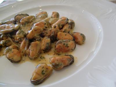 ムール貝前菜