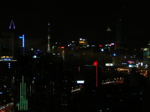 ヒルトンからの夜景