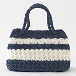 手編みバッグ3