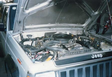 チェロキー 2ドア エンジン