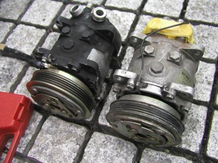シトロエン AX TRS sanden SD-505 5021