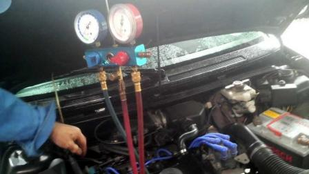 シトロエン AX GTI サンデン SD-505 5028 エアコン修理