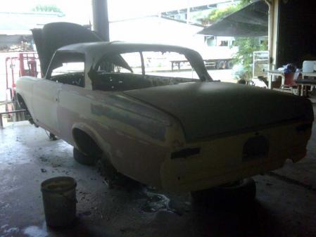 mercedes benz w111 280se 3.5 restore matsukawa_racing