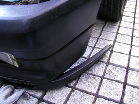 リップスポイラー取り付け シトロエンAX GTI