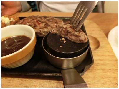 ビーフハンバーグステーキ2