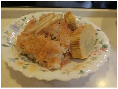261015バラ寿司と玉子焼き1