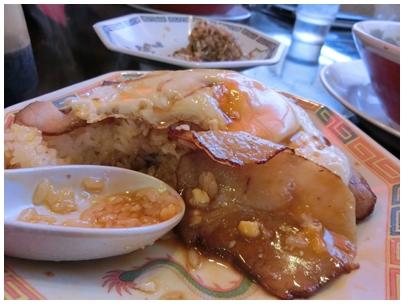焼豚玉子飯3