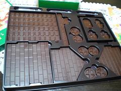 チョコレートハウスキット②