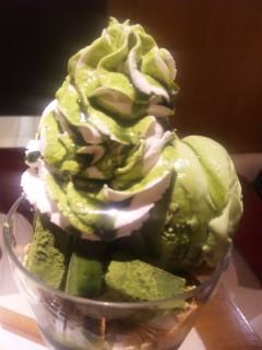 抹茶生チョコレートパフェ ¥900