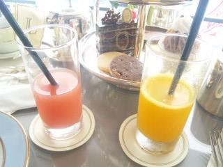 ラデュレ ランチ オレンジ グレープフルーツ